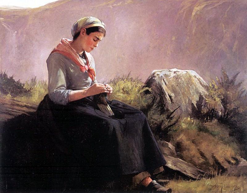 Klumpke, Anna Elizabeth (American, 1856-1942). American artists