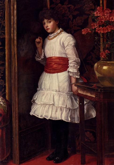 Brooks Maria The Red Sash. American artists