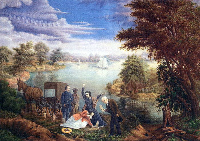 Park, Linton (American, 1826-1906) 1. American artists
