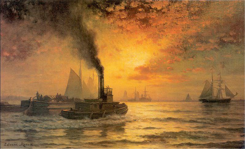 Moran, Edward (American, 1829-1901) 3. American artists