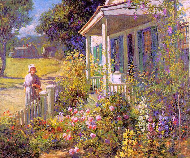 Graves, Abbott Fuller (American, 1859-1936) 1. American artists