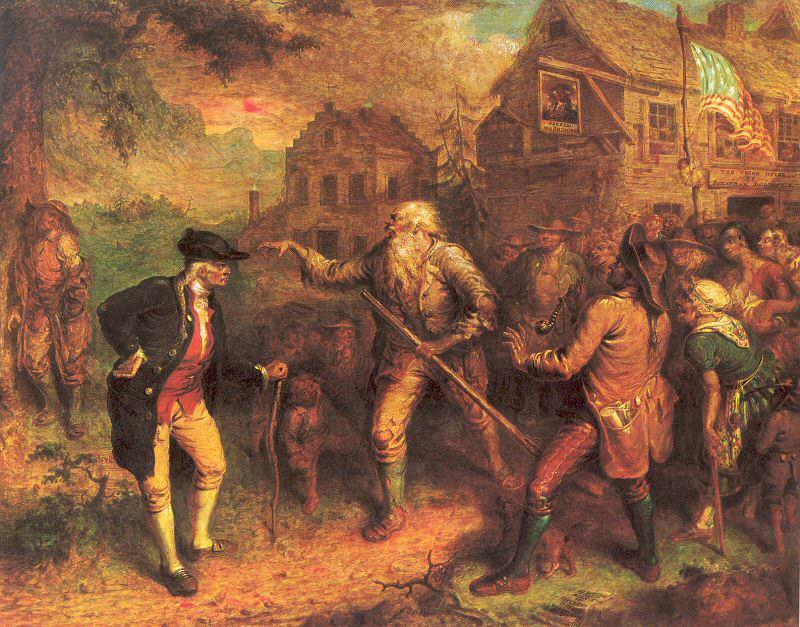 Квидор, Джон (1801-81) #1. Американские художники