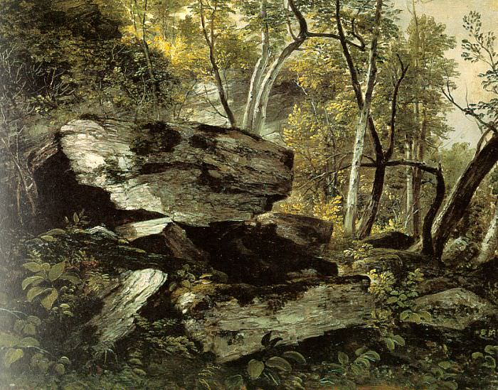 Durand, Asher Brown (American, 1796-1886). American artists