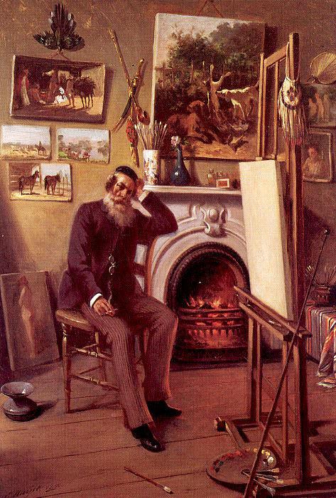 Narjot, Ernest (American, 1826-98). American artists
