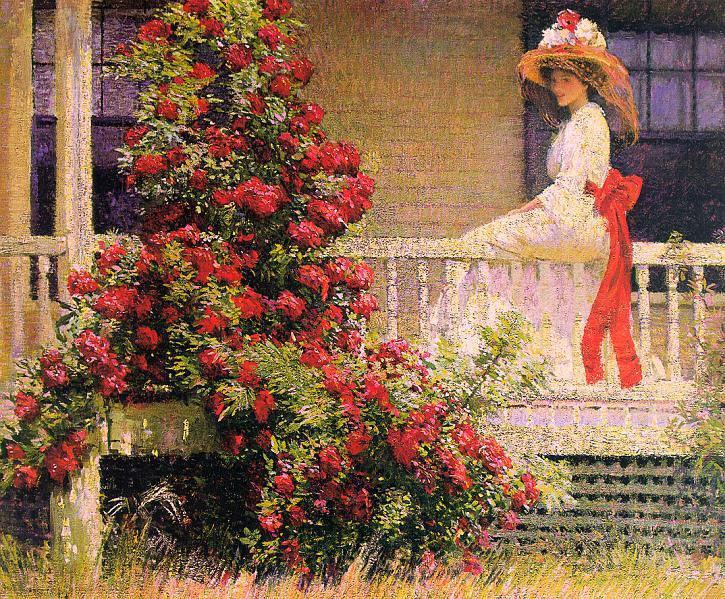 Хейл, Филип Лесли (1865-1931) #1. Американские художники