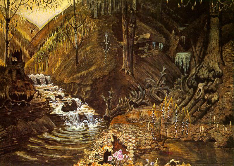 Burchfield, Charles Ephraim (American, 1893-1967). American artists