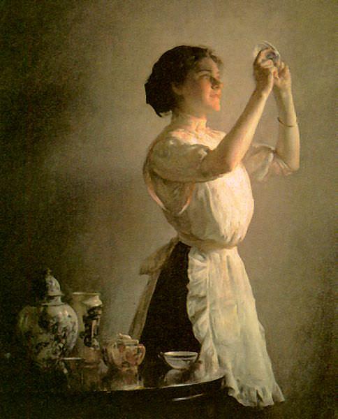 Декемп, Джозеф (1858-1923) #1. Американские художники