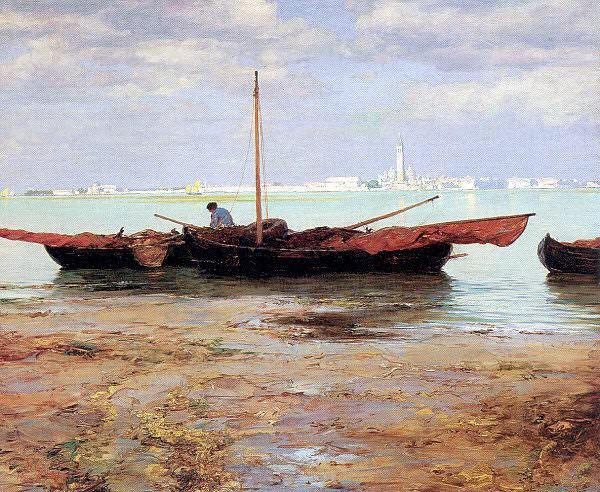 Палмер, Уолтер Лонт (1854-1932). Американские художники