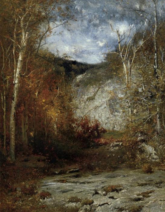 Rocky Ledge Adirondacks. American artists