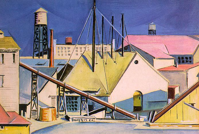 Дикинсон, Престон (1891-1930). Американские художники