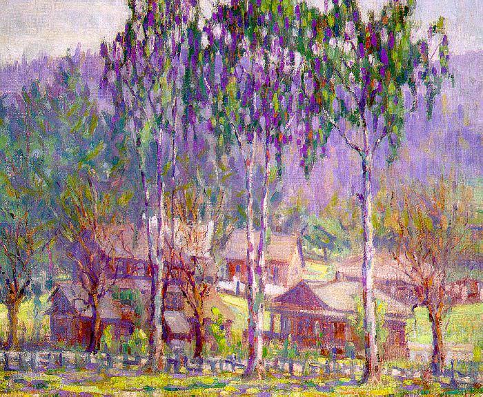 Cuneo, Rinaldo (American, 1877-1939). San Anselmo. American artists