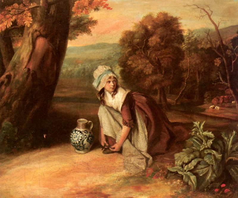 Уолтон, Генри - Молодая крестьянка. Американские художники