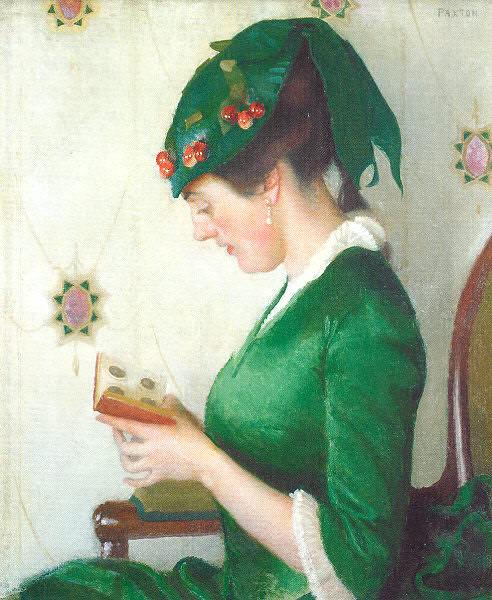 Paxton, William McGregor (American, 1869-1941) 7. American artists