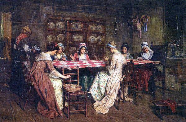 Мослер, Генри (1841-1920) #6. Американские художники