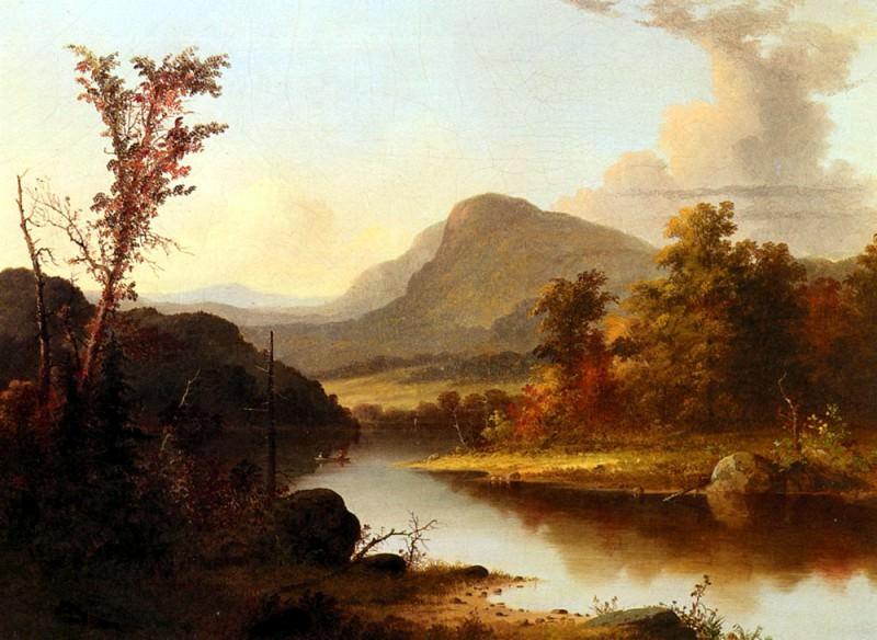Дьюрри, Джордж Генри - Осенний пейзаж. Американские художники
