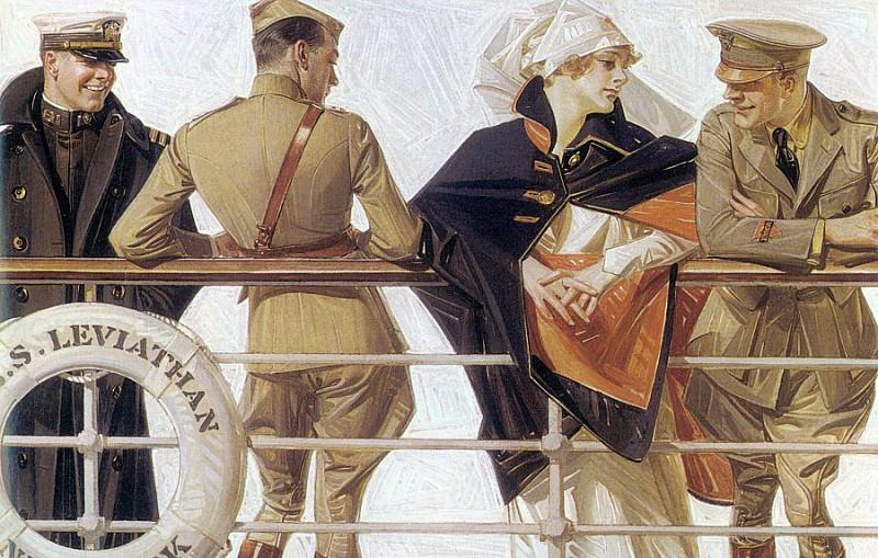 Leyendecker, Joseph Christian (American, 1874-1951). American artists