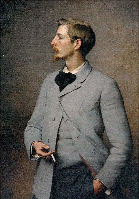 Pearce, Charles Sprague (American, 1851-1914) 1. American artists