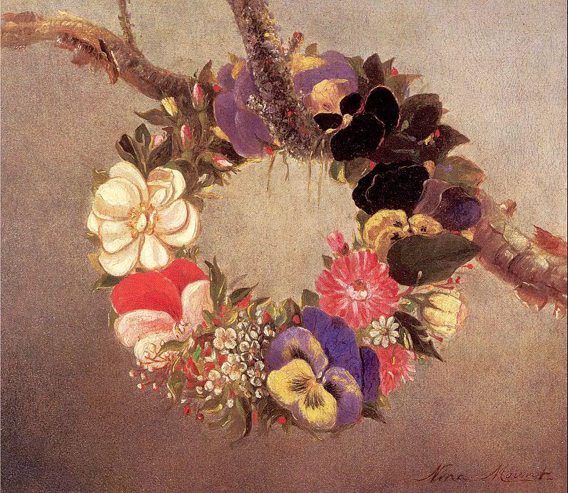 Mount, Evelina (American, 1837-1920) 1. American artists