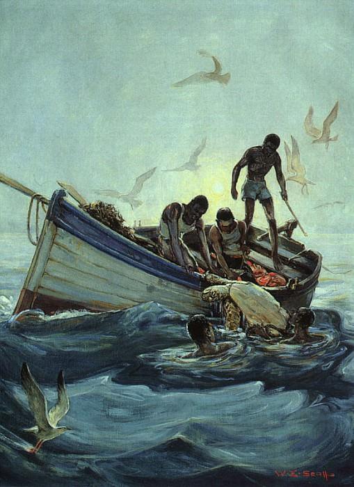 Scott, William Edouard (American, 1884-1964) 1. American artists