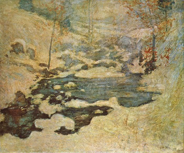 Twatchman, John Henry (American, 1853-1902) 1. American artists