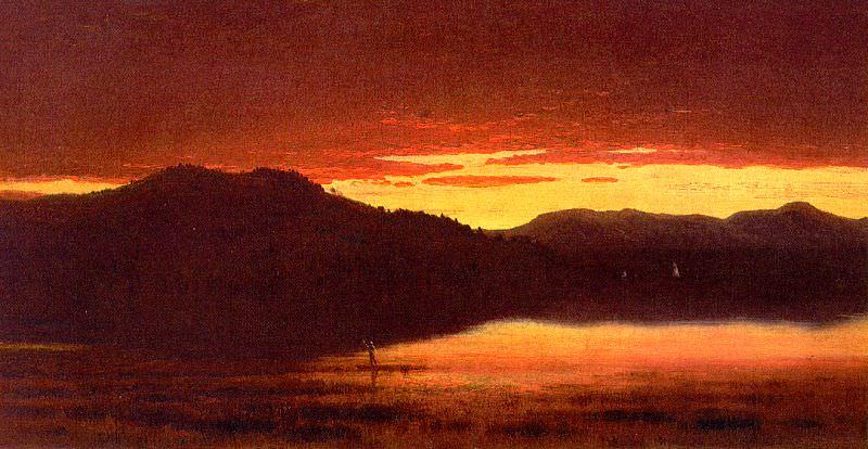 Gifford, Sanford Robinson (American, 1823-1880). American artists