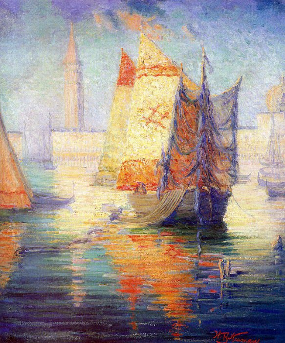 Newman, Willie Betty (American, 1863-1935) 4. American artists
