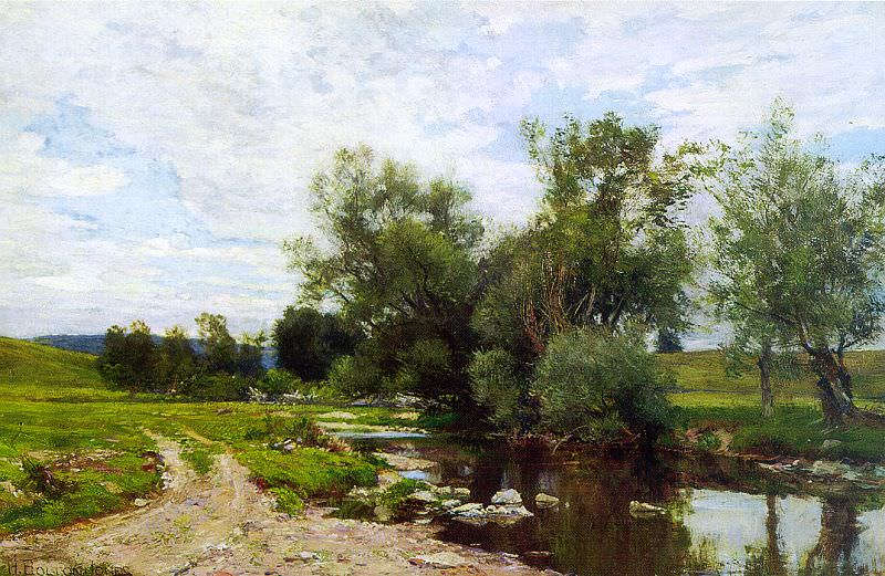 Jones, Hugh Bolton (American, 1848-1927). American artists