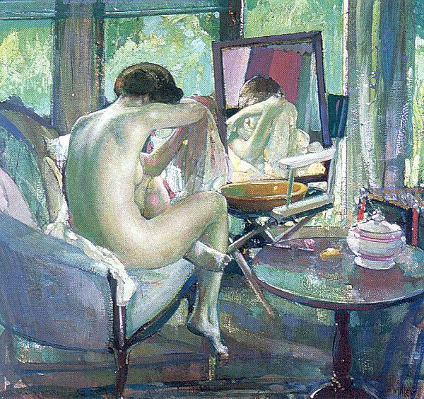 Миллер, Ричард Эмиль (1875-1943). Американские художники