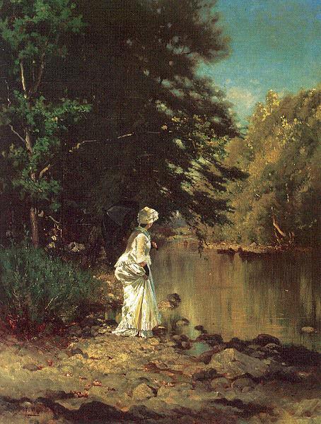 Parton, Arthur (American, 1842-1914) 1. American artists
