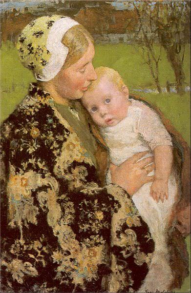 Melchers, Gari Julius (American, 1860-1932) 1. American artists