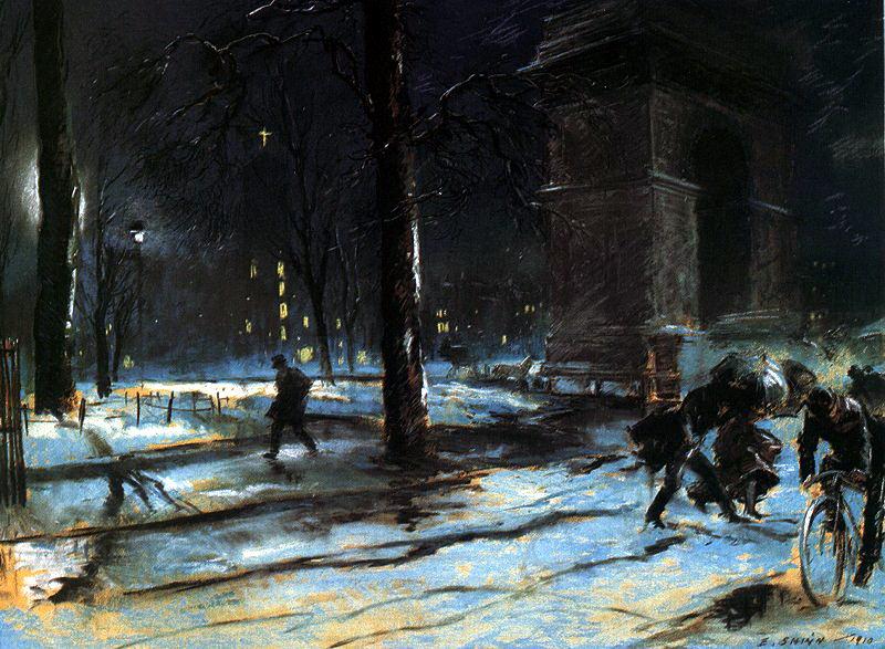 Шинн, Эверетт (1876-1953). Американские художники