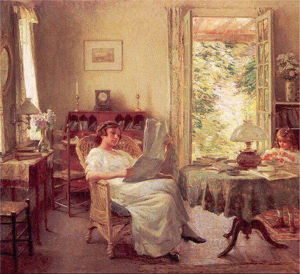 Metcalf, Willard Leroy (American, 1858-1925). American artists