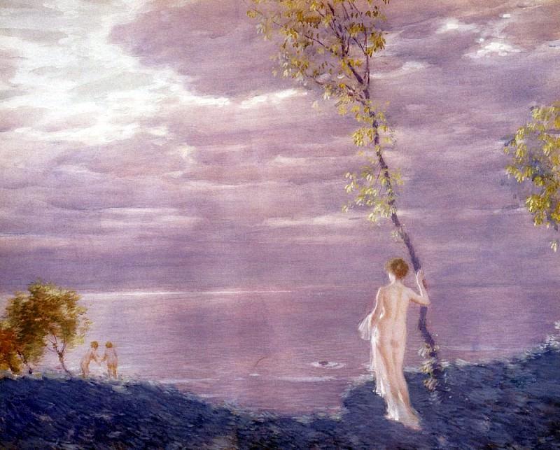 Dufner Edward Summer Evening. American artists