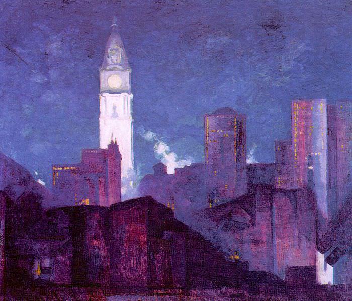 Breckenridge, Hugh Henry (American, 1870-1937) 1. American artists