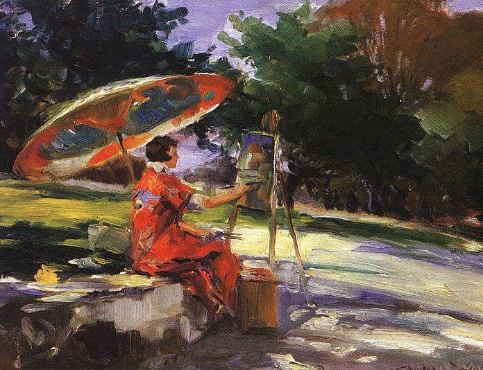 Wrenn, Charles (American). American artists