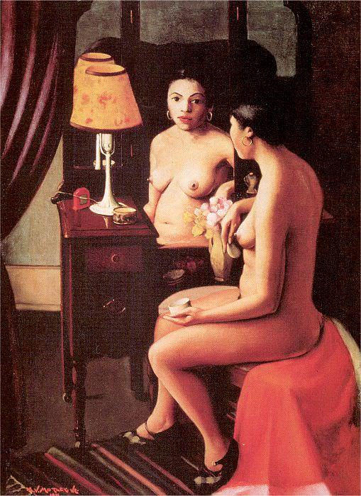 Мотли, Арчибальд, мл. (1891-1981) #1. Американские художники