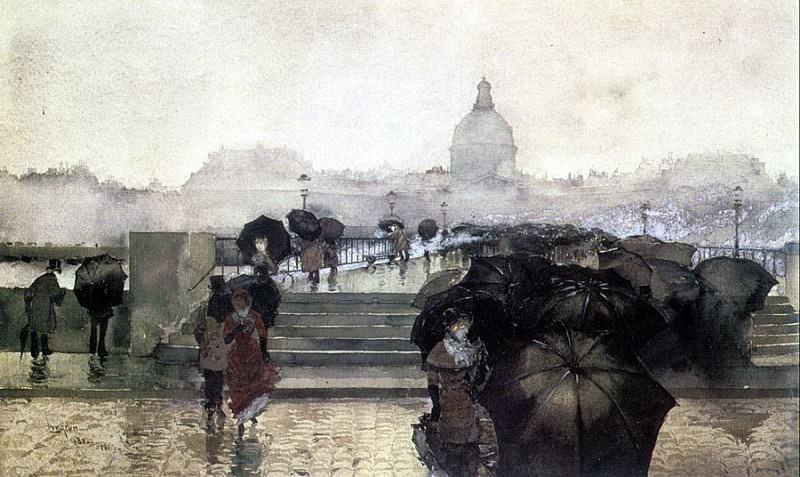 Лунгрен, Фернанд Харви (ок.1857-1932). Американские художники