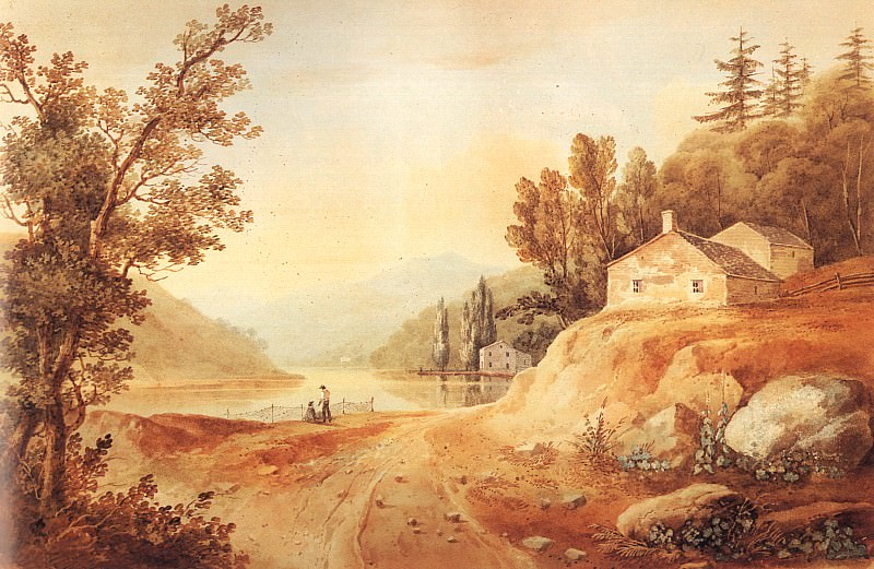 Wall, William Guy (American, 1792-1862) 1. American artists