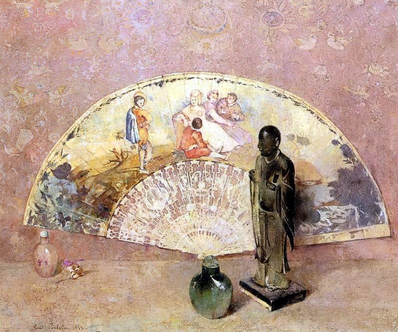 Carlsen Emil The French Fan. American artists