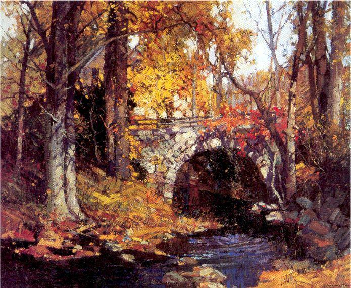 Малхопт, Фредерик Джон (американец, 1871-1938). Американские художники