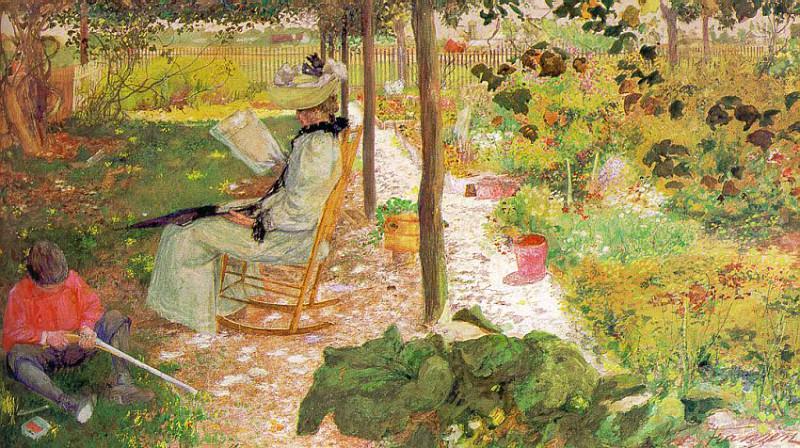 Franzen, August (American, 1863-1938). American artists