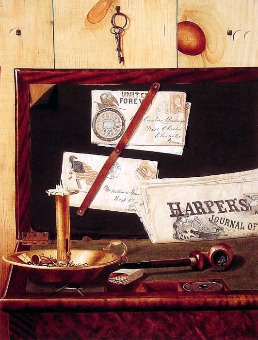 Harpers Weekly. American artists