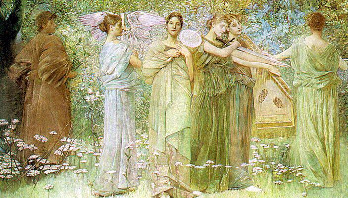 Dewing, Thomas Wilmer (American, 1851-1938). American artists