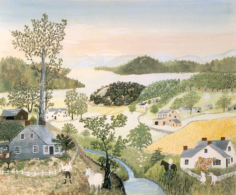 Moses, Grandma (American, 1860-1961). American artists