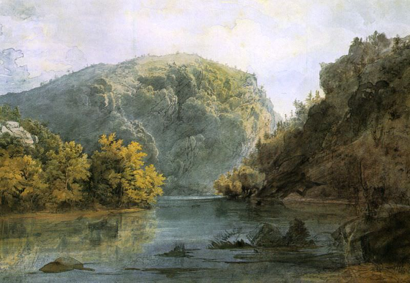 Bodmer, Karl (Swiss, practiced mainly in America, 1809-1893). American artists