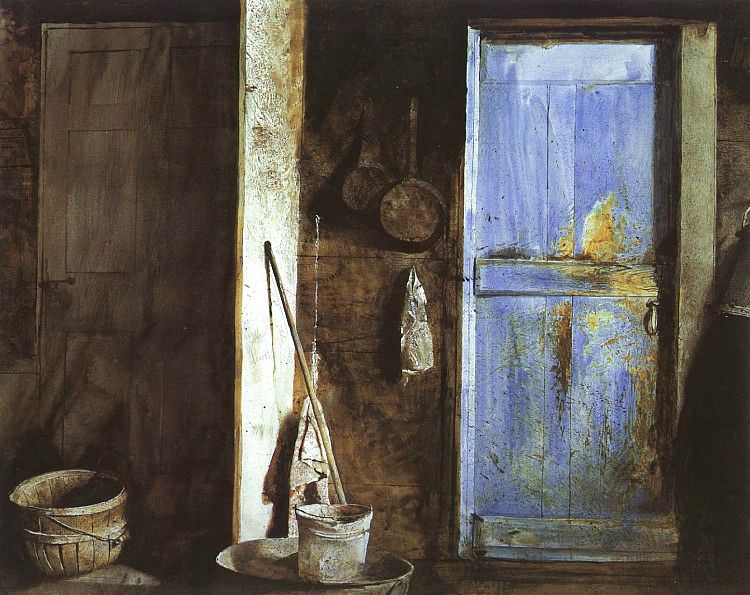 Wyeth, Andrew Newell (American, born 1917). American artists
