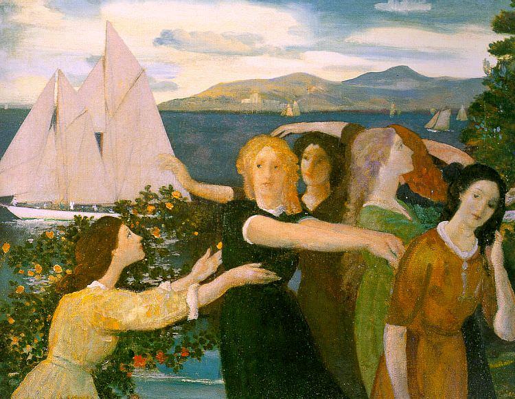 Девис, Артур Боуэн (1862-1928). Американские художники