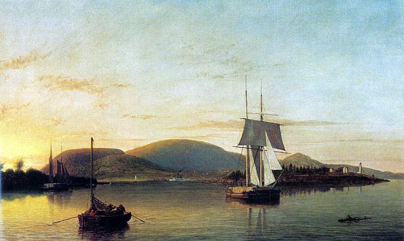 Lane, Fitz Hugh (American, 1804-1865). American artists