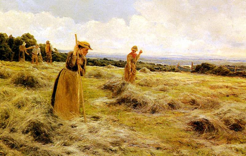 Солтмер, Флоранс - Заготовка сена. Американские художники