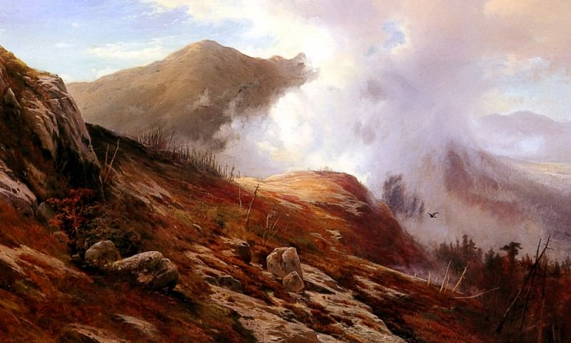 Moran Edward Half Way Up Mt Washington. American artists